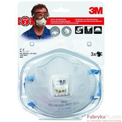 Półmaska filtrująca przeciw pyłom i mgłom 3M