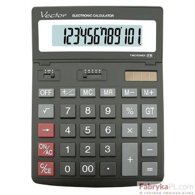 Kalkulator VECTOR DK206 12p