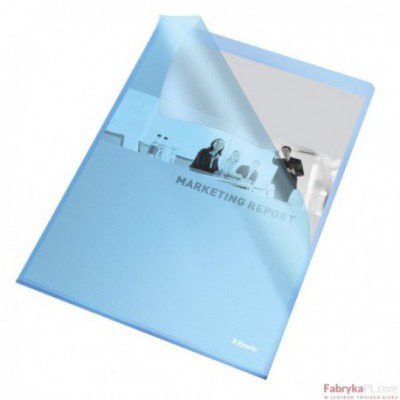 Ofertówki groszkowe A4 /115 mic, ESSELTE, niebieskie(25)