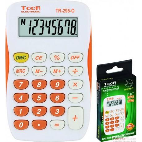 Kalkulator TOOR TR-295- 8 pozycyjny kieszonkowy