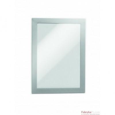 Ramki MAGAFRAME A5 srebrne (2 sztuki) DURABLE