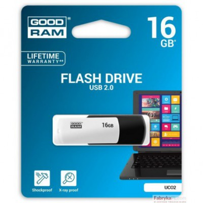 Pamięć USB GOODRAM 16GB UCO2 BLACK&WHITE USB 20