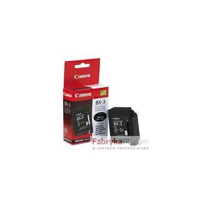 Glowica CANON BX-3 czarny 1000 str 0884A002 Fax B100/110/120