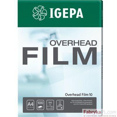 Folia IGEPA Overhead Film 10 - Przezr. niepowlekana