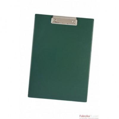 Deska z klipem DATURA A4 zielona