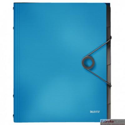 Teczka segregująca 6 przekładek PP Leitz Solid, jasnoniebieska 45691030