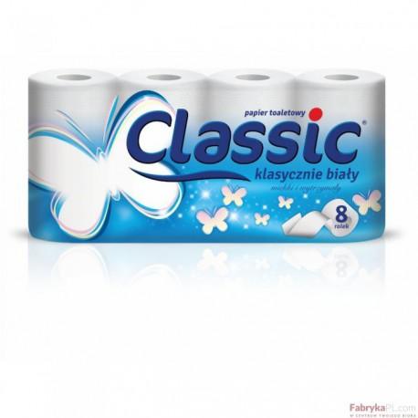 Papier toal.CLASSIC biały (8szt.) VELVET