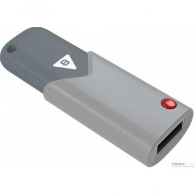 Pamięć USB EMTEC 8GB USB 2,0 click szary ECMMD8GB102