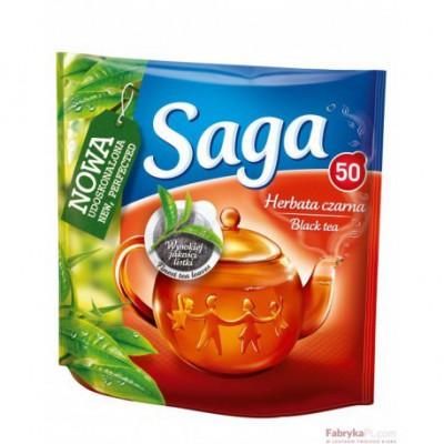 Herbata Saga Ekspresowa 50 torebek