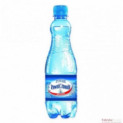 Woda ŻYWIEC ZDRÓJ 0,5l gazowana