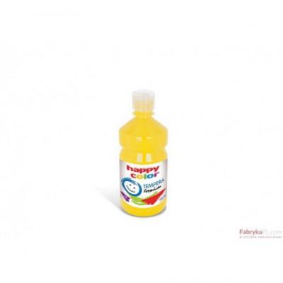 Farba tempera Premium 500ml, cytrynowy Happy Color