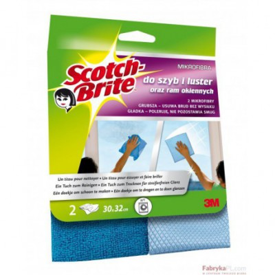SCOTCH-BRITE™ Mikrofibra do okien (do szyb i do ram)