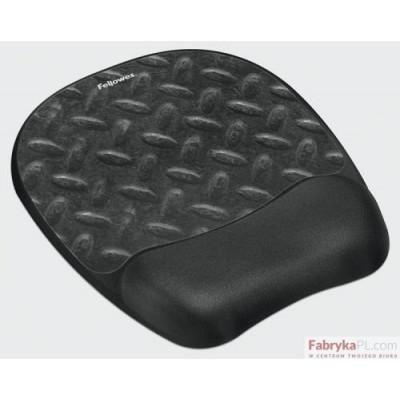 Podkładka żelowa pod mysz i nadgarstek FELLOWES Memory Foam, ślad opony
