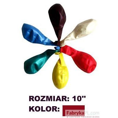 "Balon GRAND 10"" metal brąz/burgund 100szt"