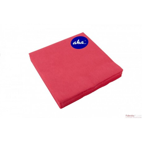 Serwetki AHA czerwony one 20 sztuk