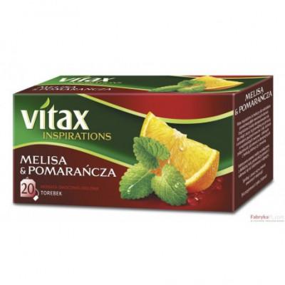 Herbata VITAX INSPIRATIONS Melisa&Pomarańcza 20TB/40g