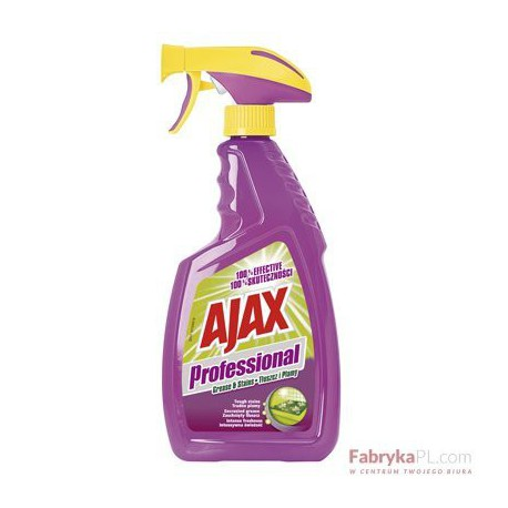 Płyn AJAX Professional 600ml tłuszcz i plamy