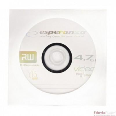 DVD+R ESPERANZA 4,7GB X16 - KOPERTA 1