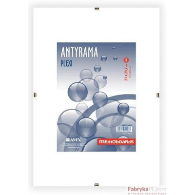 Antyrama plexi 100x150 mm MEMOBOARDS