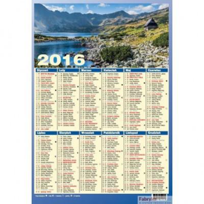 Kalendarz Planszowy(Plakatowyietka) Nr.1159 WOKÓŁ NAS