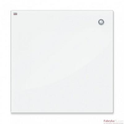 Tablica szklana magnetyczna 45x45 cm biała 2x3