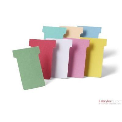 Karteczki NOBO T-card, rozmiar 2 - 60mm, różowe 100 szt.